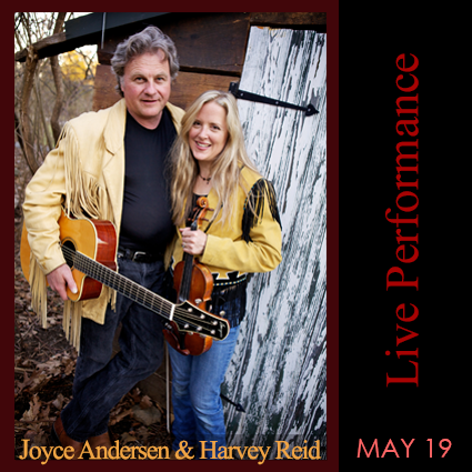 Joyce Andersen and Harvey Reid